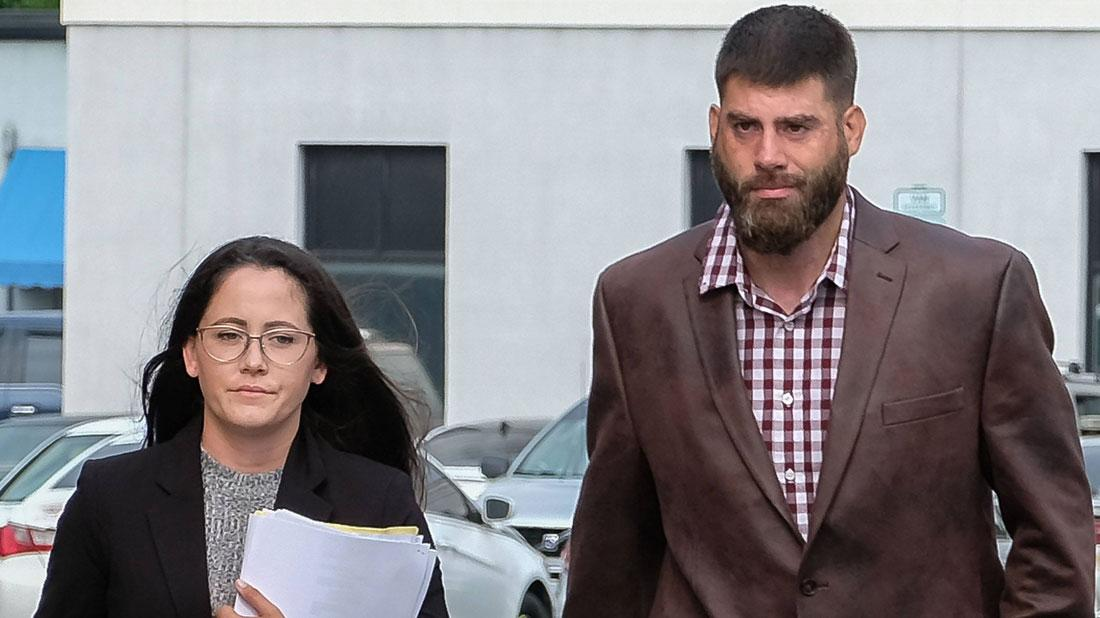 //Jenelle Evans Flees From Estranged Husband David To Tennessee pp