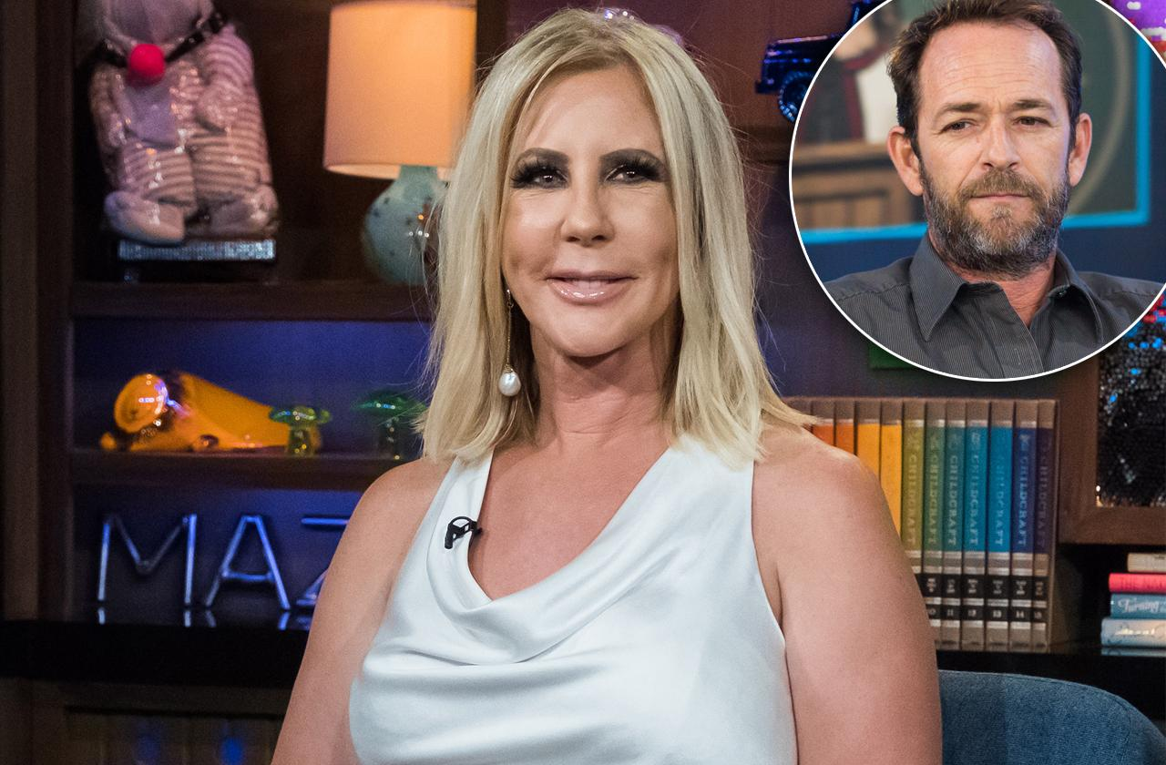 Vicki Gunvalson Dragged For Tacky Luke Perry Insurance Post