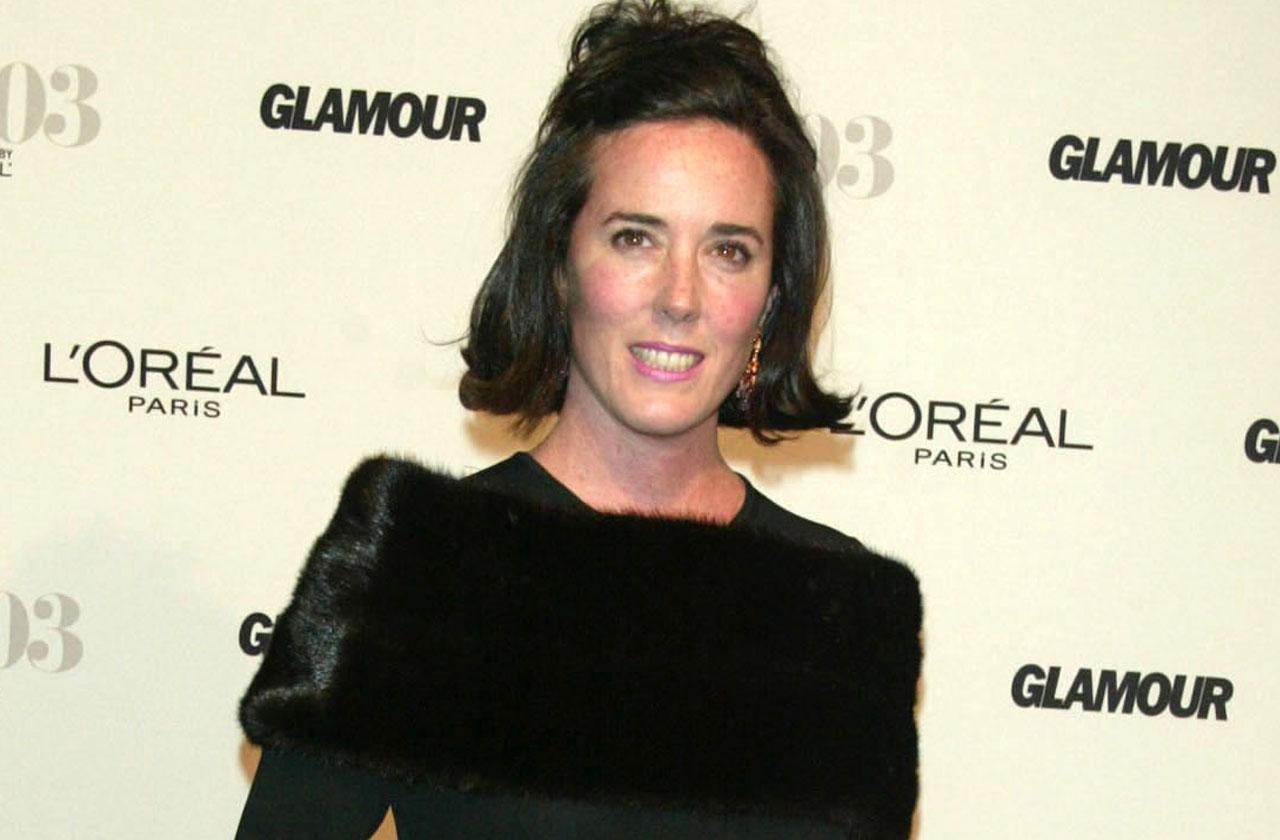 //kate spade friends family gather fashion icon funeral pp