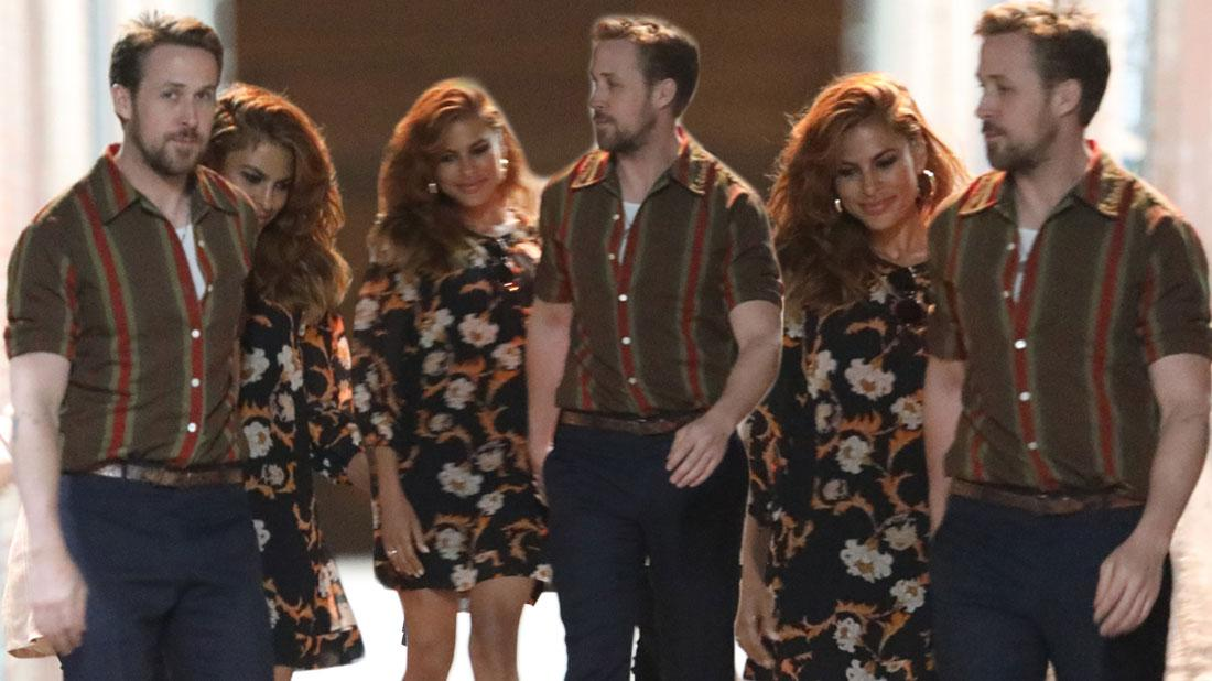 Ryan Gosling and Eva Mendes Enjoy Dinner Date In Rare Outing