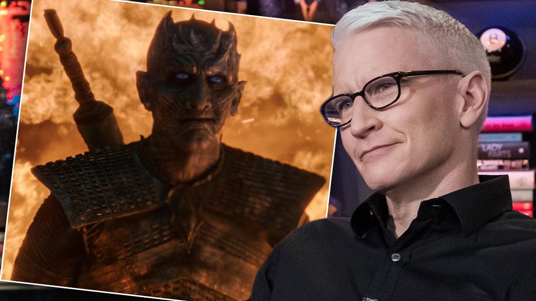 Anderson Cooper Nicknamed 'Night King' By Miserable Co-Workers