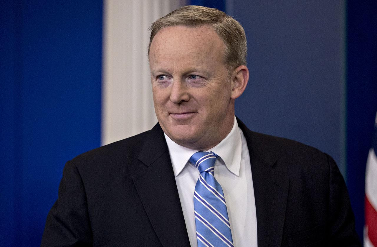 //Sean Spicer New Book Fame Hungry pp