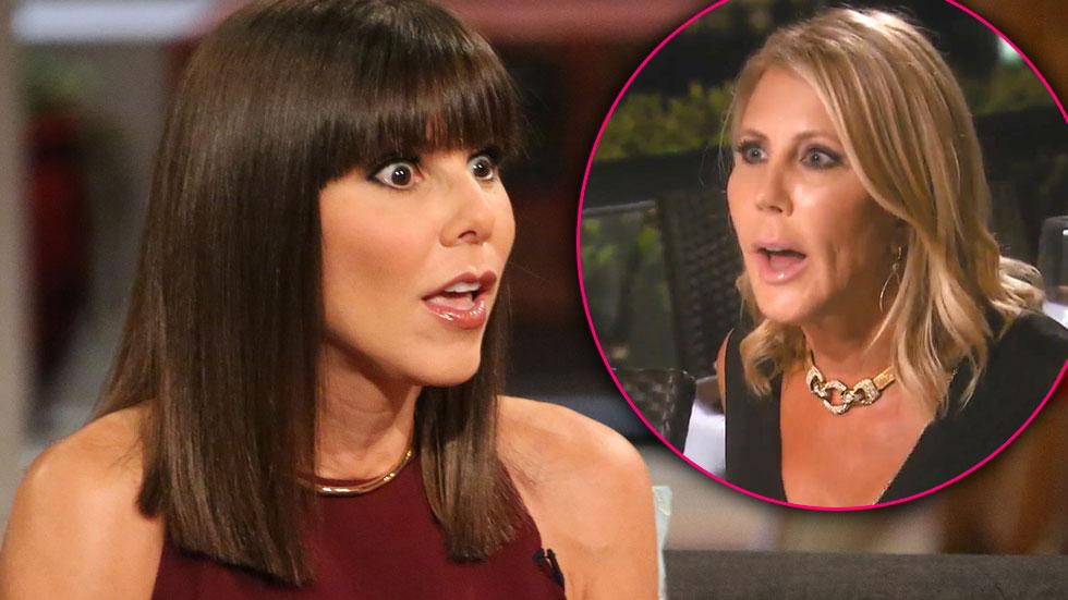 //heather dubrow vicki gunvalson lies friend feud