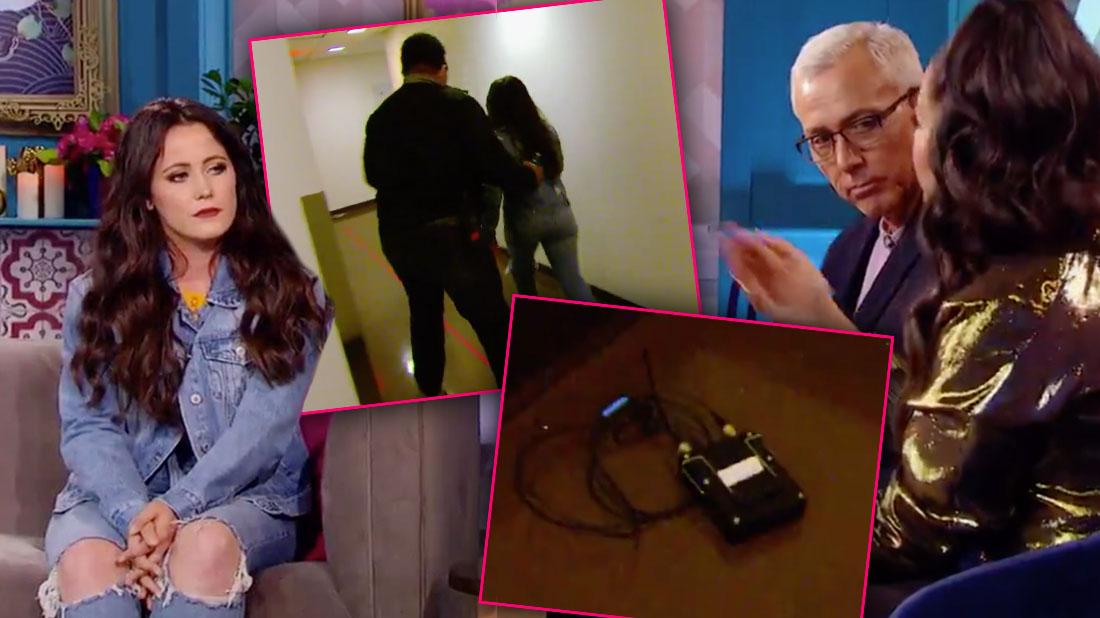'Teen Mom' Tantrum! Jenelle Storms Off Stage After Being Confronted About Hateful Comments