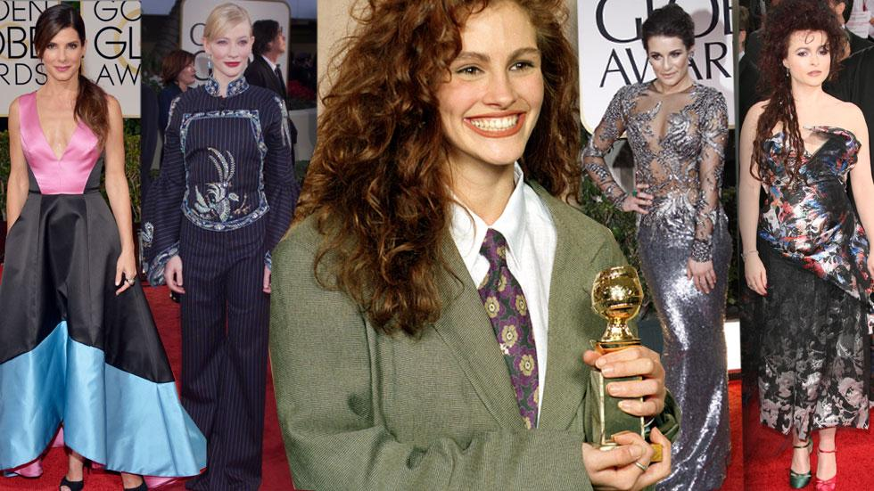 Worst Golden Globes Fashion Disasters
