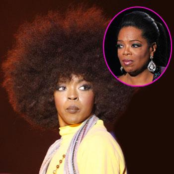//lauryn hill no oprah interview