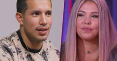 //kailyn lowry javi marroquin discuss getting back together teen mom  PP