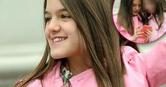 Pre-Teen Suri All Smiles, Despite Desperate Desire To Reconnect With Dad Tom Cruise