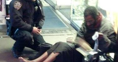 //homeless boots nypd