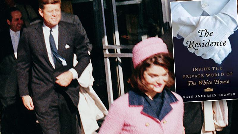 //jfk assassination tell all jackie kennedy butler did not sleep book claims pp