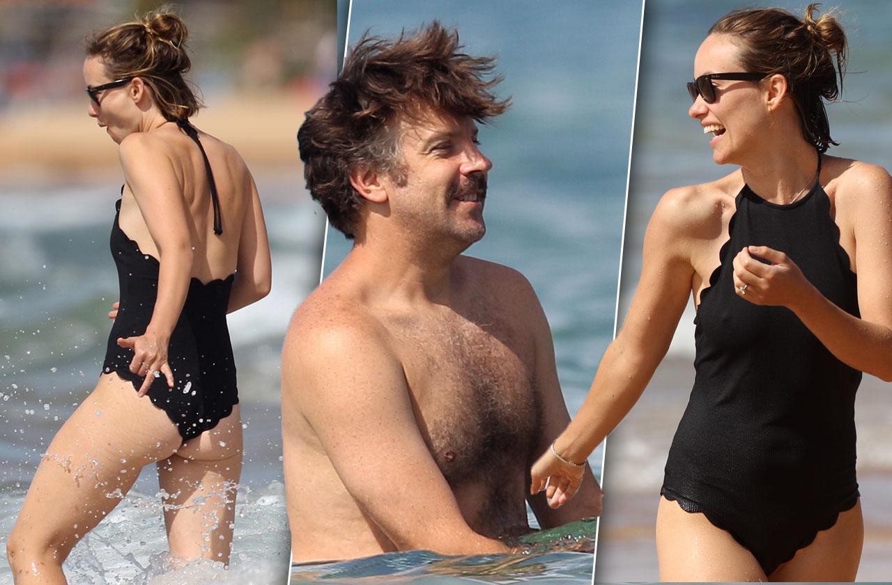 //Olivia Wilde Swimsuit Body Beach pp
