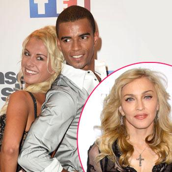 Brahim Zaibat Madonna split dancer