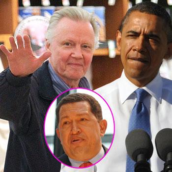 //jon voight criticize barack obama