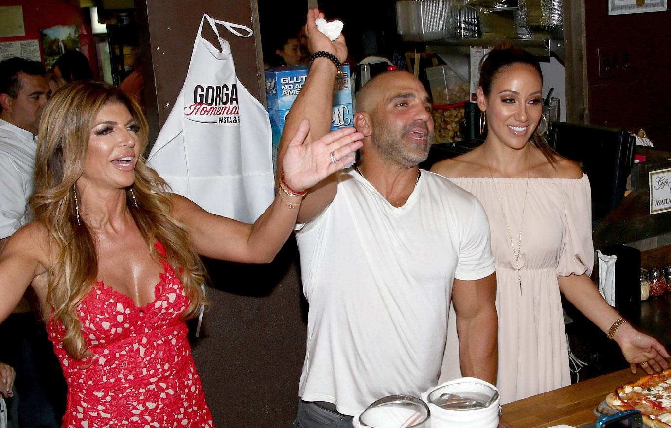 Joe Gorga Teresa Giudice New Jersey Restaurant Closing