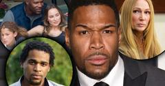 Michael Strahan divorces bad dad confessions
