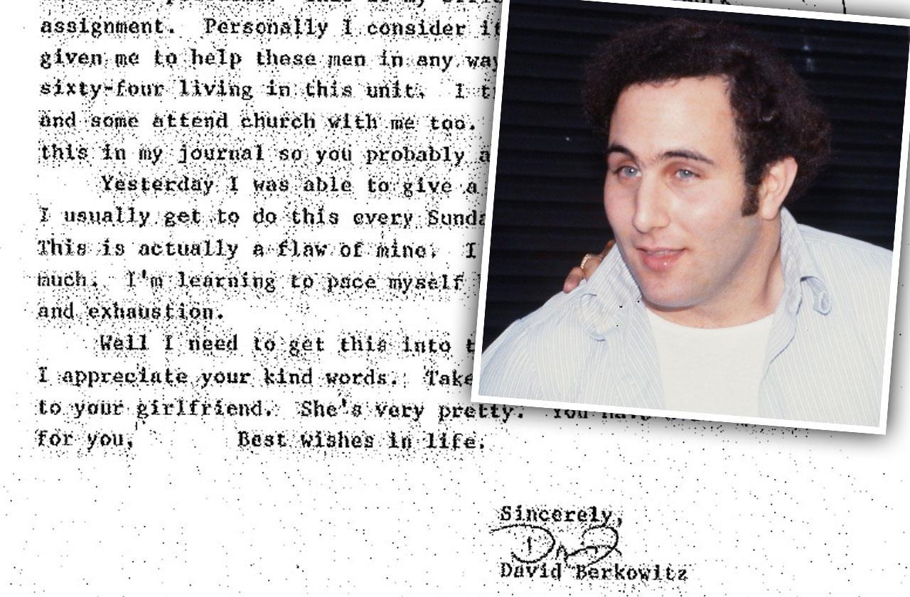 //son sam david berkowitz prison letters pp