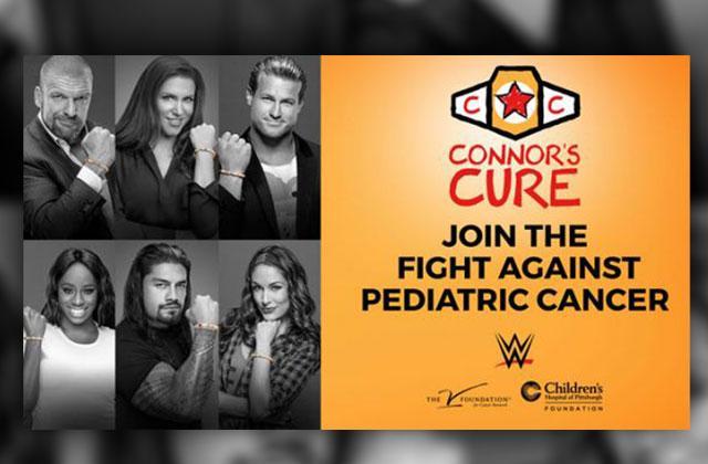 //wwe fight pediatric cancer RADAR