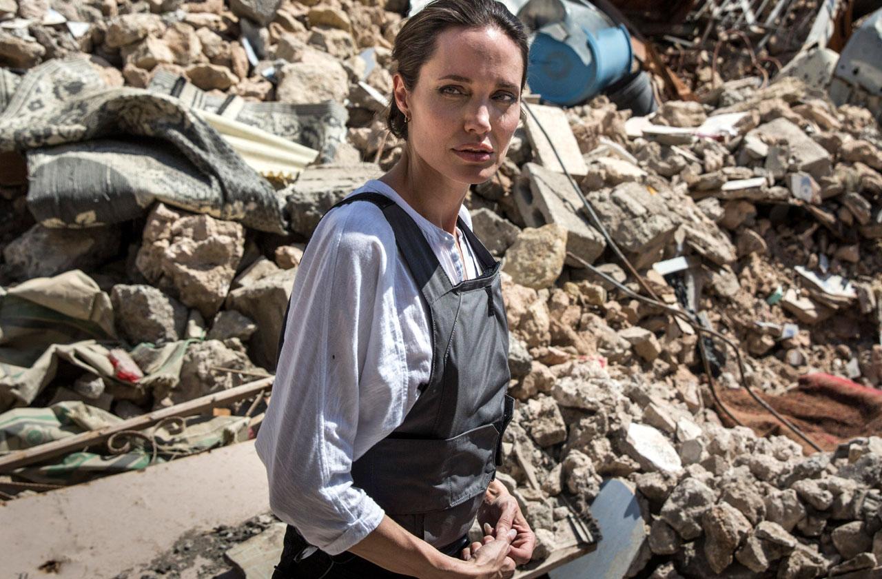 Angelina Jolie Refugee Trip Image Makeover