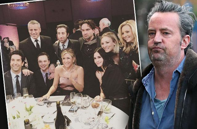 //friends cast reunion nbc special matthew perry missing pp