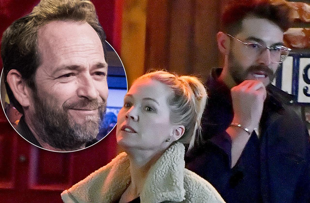 Jennie Garth Costar Luke Perry Death
