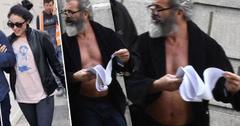 //mel gibson girlfriend pregnant shirtless pot belly dublin ireland pp