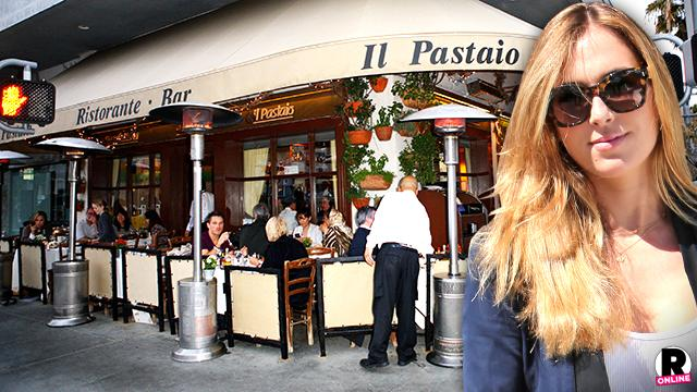 Ben Affleck Nanny Christine Ouzounian Cheating Attention Beverly Hills Restaurant