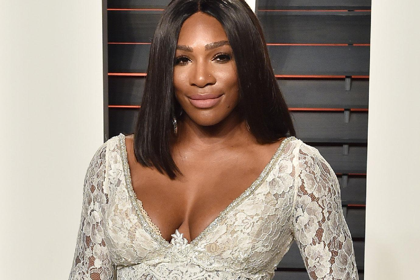 Serena Williams Over The Top Wedding Gown