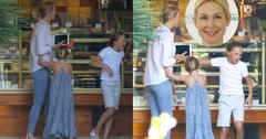 Kelly Rutherford Reunited With Children In France