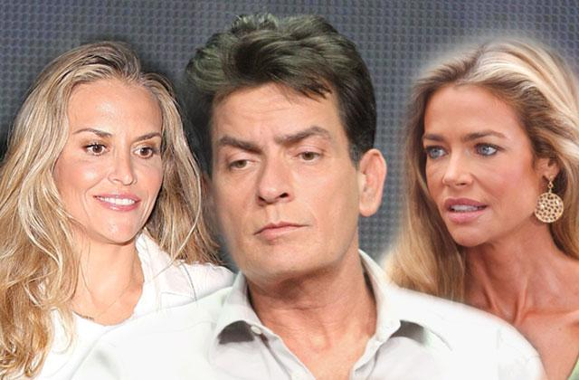 //charlie sheen brooke mueller denise richards custody case settlement claims pp