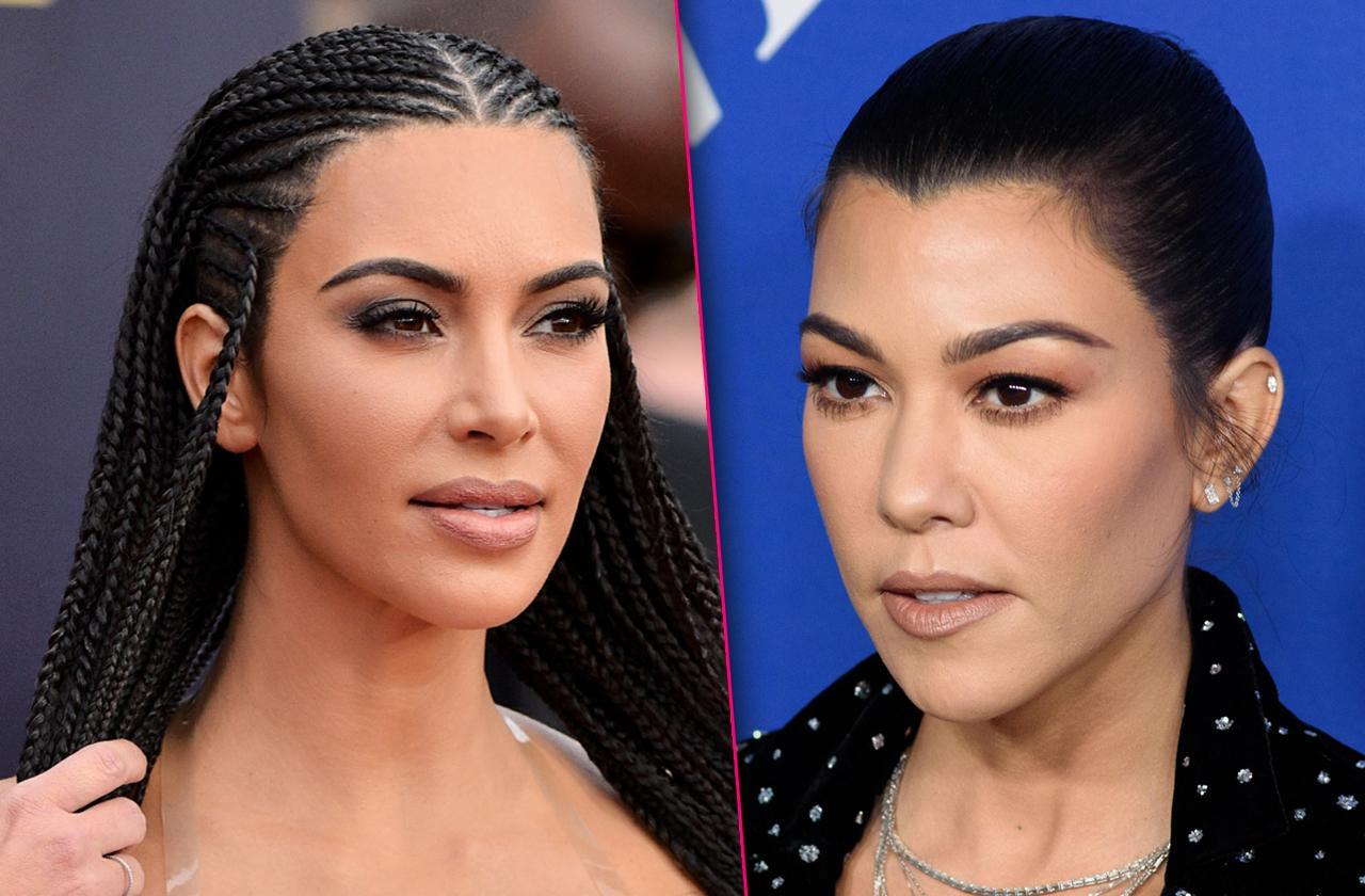 Kim Kardashian Viciously Attacks Sister Kourtney Kardashian