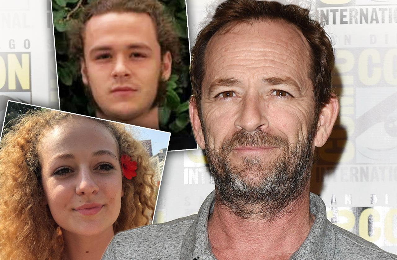 Luke Perry Will Kids