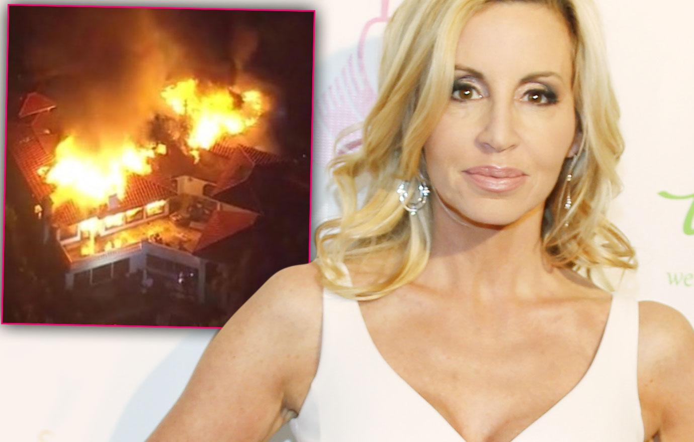 Camille Grammer's Wedding Dress Saved After House Burned Down