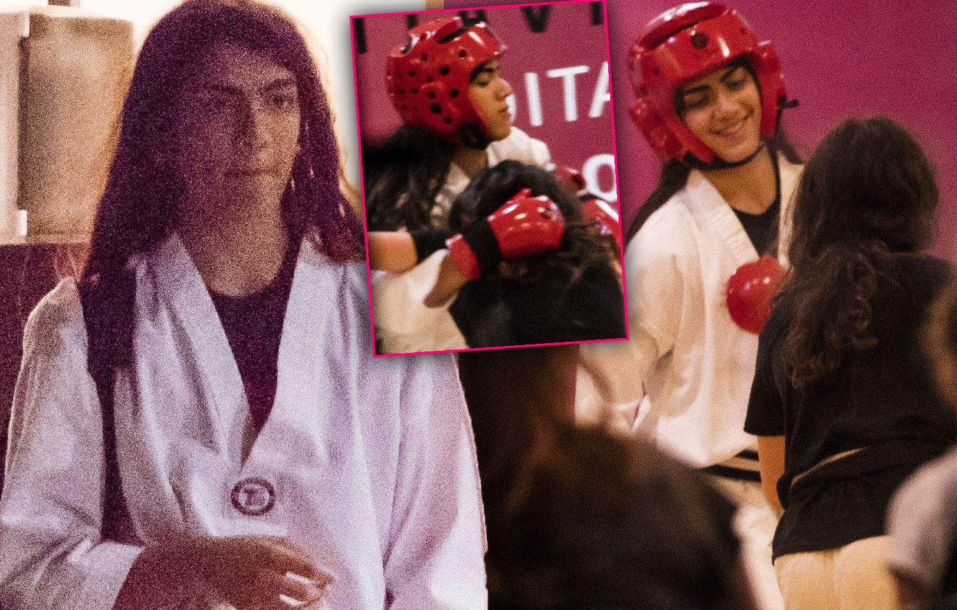 //blanket jackson shows off punching power at taekwondo pp