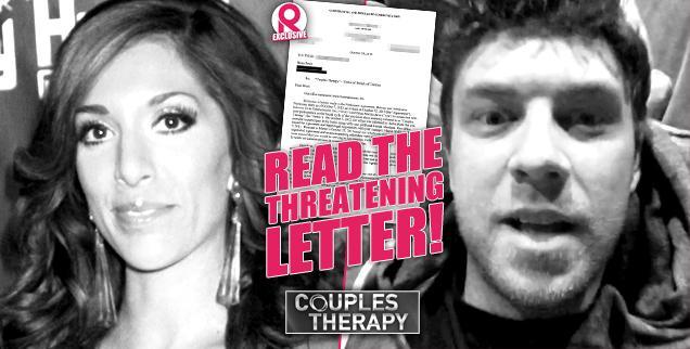 //farrah abraham boyfriend brian dawe threatening legal letter couples therapy wide