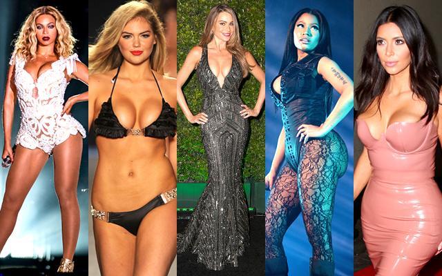 curvy celebrities kim kardashian photos