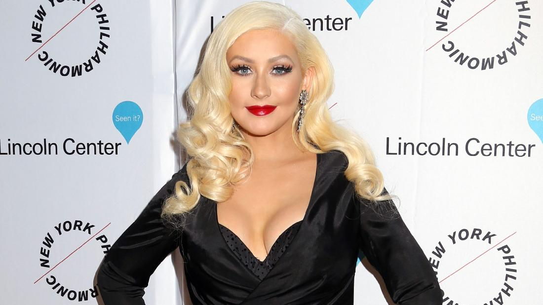 Christina Aguilera Says Show Biz Wolves Talked About Her Breasts