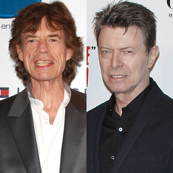//david bowie bed mick jagger