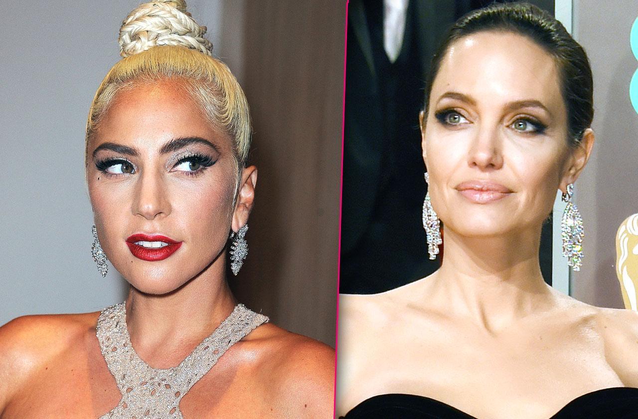 Angelina Jolie Lady Gaga Fighting Movie Cleopatra