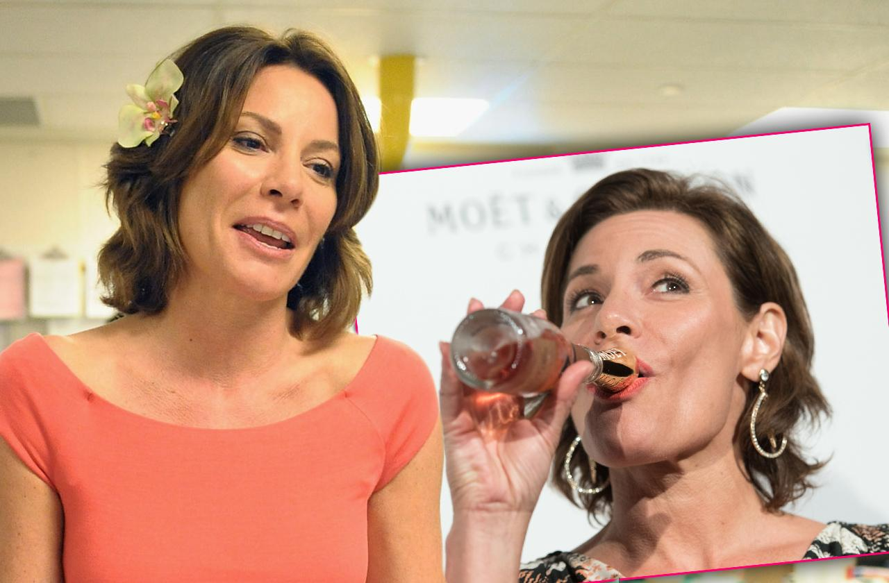 Luann de Lesseps admitting to an alcohol relapse