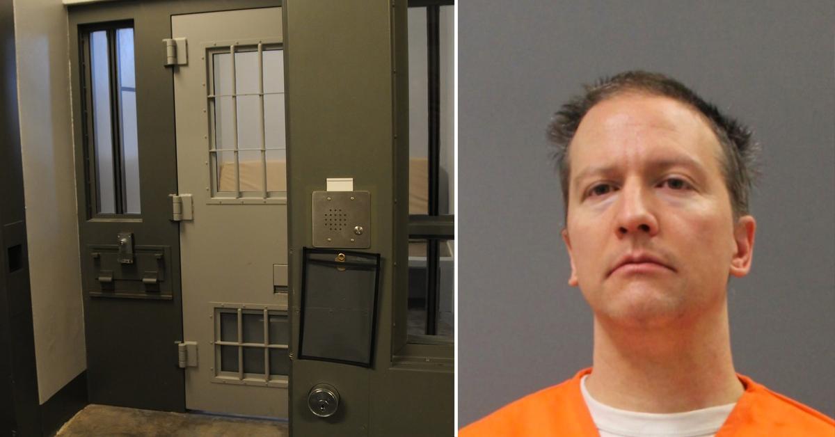 derek chauvin first prison meal chicken george floyd murder guilty verdict rf