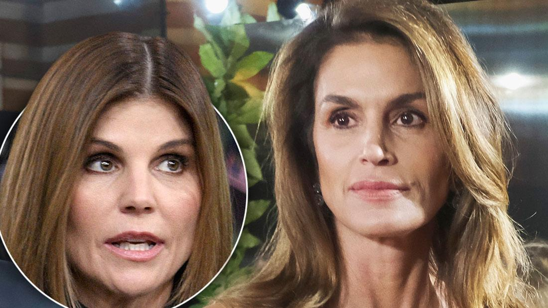 Cindy Crawford Drops Lori Loughlin From Makeup Line After Scandal