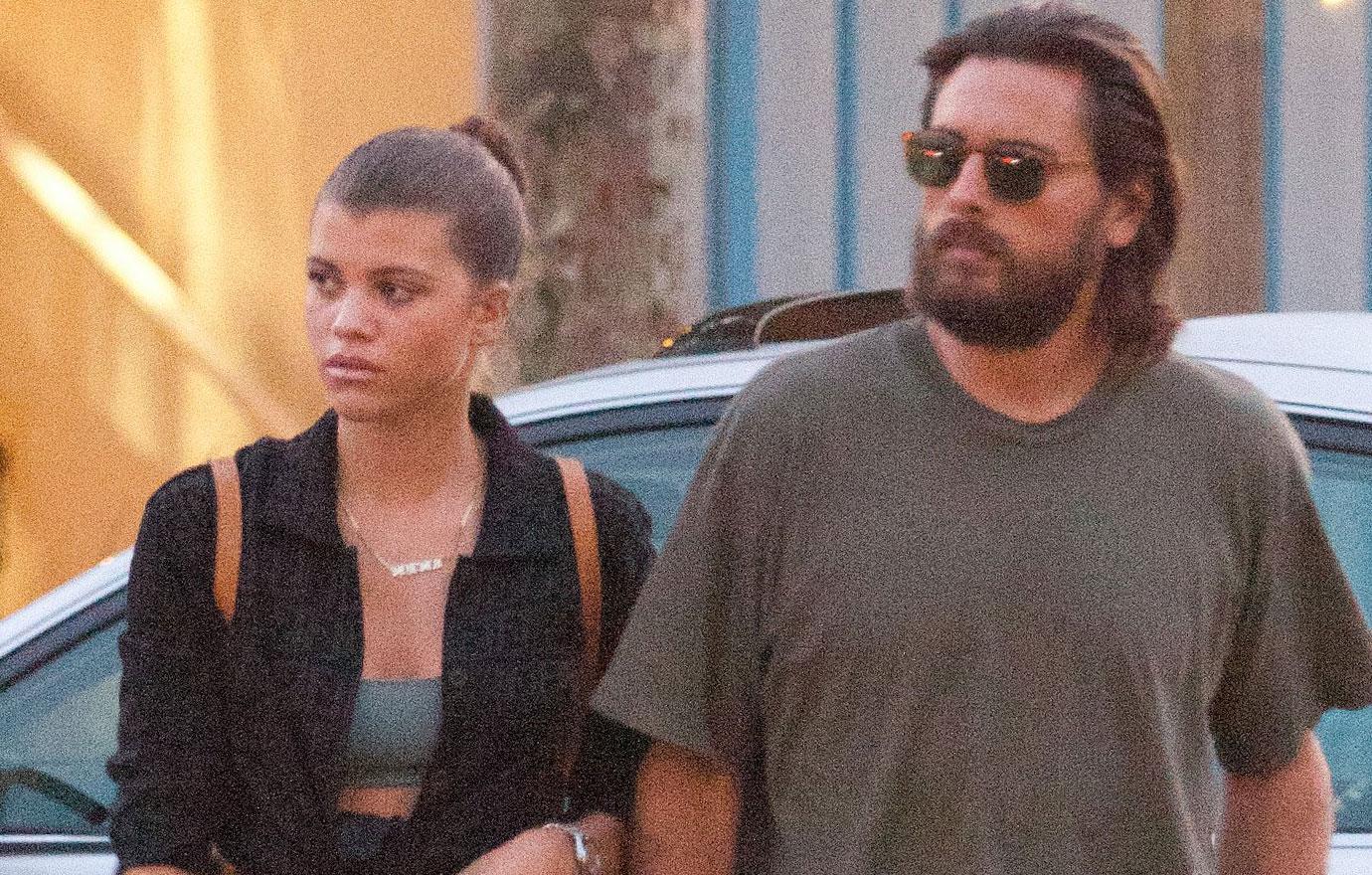 Scott Disick And Sofia Richie Have Romantic Malibu Date