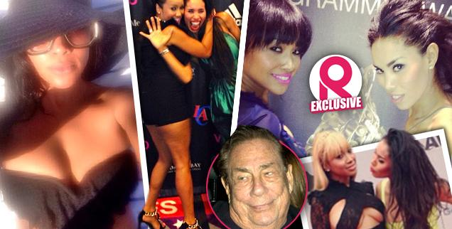 //donald sterling new girlfriend raquel lee v stiviano best friend rob kardashian wide