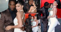 Kylie Jenner, Travis Scott & Stormi At 'Look Mom I Can Fly' Premiere