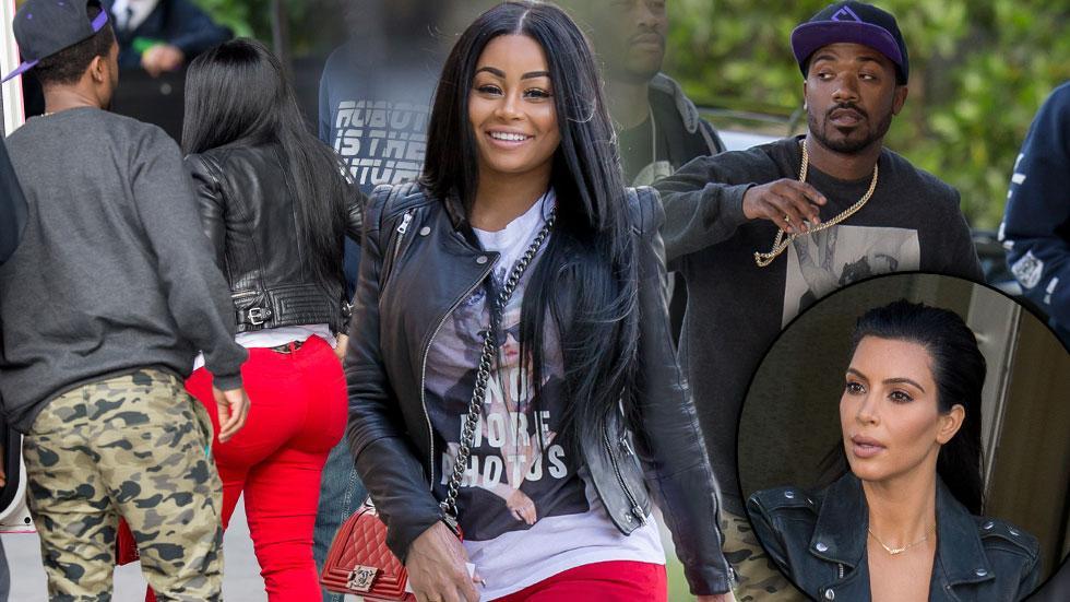 Kim Kardashian Rivals Blac Chyna & Ray J Photos