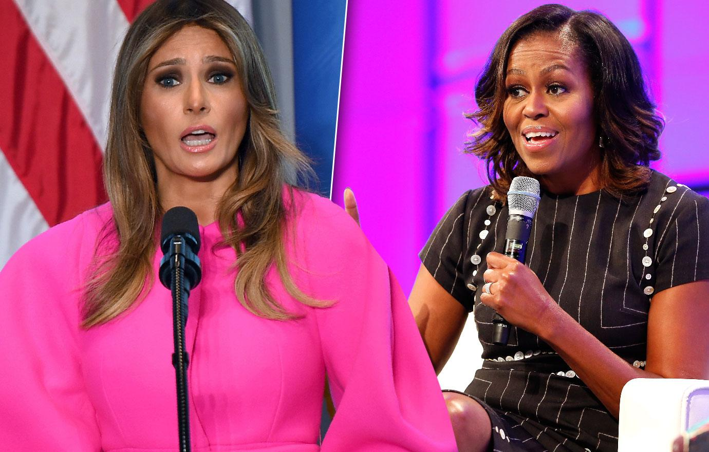 Melania Trump Slashes FLOTUS Bloated Budget From Michelle Obama