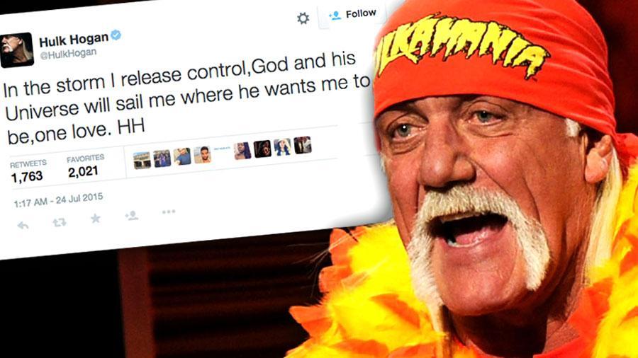 Hulk Hogan Racist Scandal Tweet