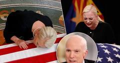 Meghan McCain Sobs John McCain Casket Arizona State Capitol