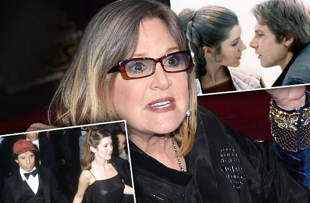 carrie fisher dead heart attack substance abuse drugs sex affair