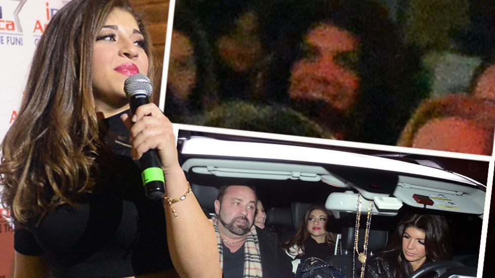 //Teresa Giudice and her husband Joe Giudice show support for their daughter Gia Giudice pp